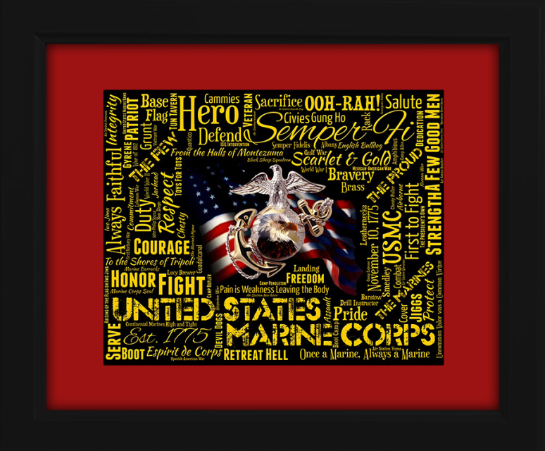 United States Marine Corps USMC gift ideas for graduation birthdays college presents unique gifts art Veterans Memorial Hero  sc 1 st  Our Beautiful Art Pieces make the PERFECT Graduation Gift! & United States Marine Corps USMC gift ideas for graduation birthdays ...