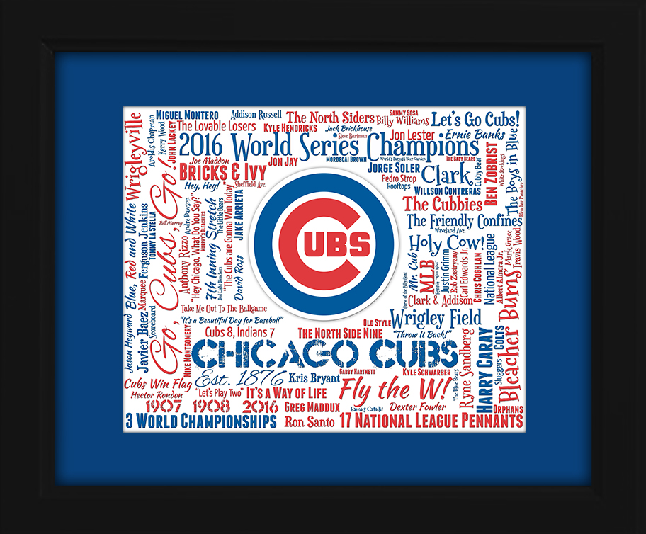 Chicago Cubs World Series Gift Ideas For Graduation